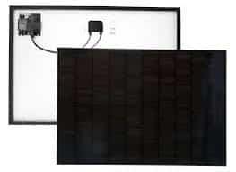 Solaria panel used on Shade Power solar pergola