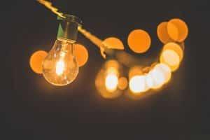 Solar pergola lights